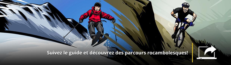Consultez le site des saisons 1 et 2 de Guides d'aventures!