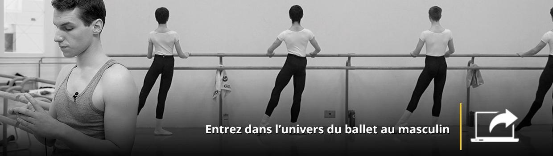 Visitez le site de la série et entrez dans l'univers du ballet au masculin.