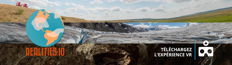 Téléchargez l'expérience VR de Terres d'exploration.